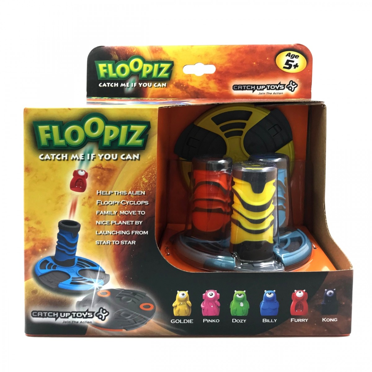 Игра CATCHUP TOYS FP-001S-STD Floopiz
